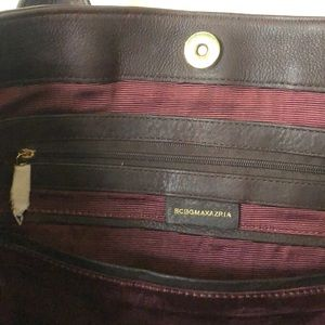 BCBGMaxAzria Bags - Bcbg Maxazaria burgundy tote bag